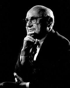 Free-Market Economist Milton Friedman