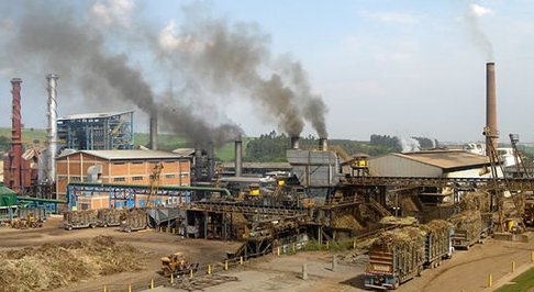 Ethanol refinery