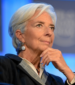 IMF Director Christine Lagarde