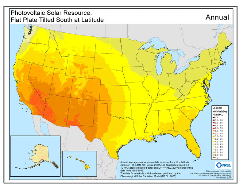 U.S. National Renewable Energy Laboratory, 2008.