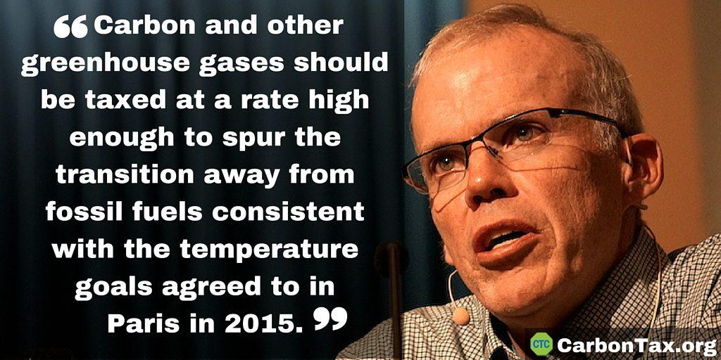 Carbon tax campaigner: 350.org's McKibben