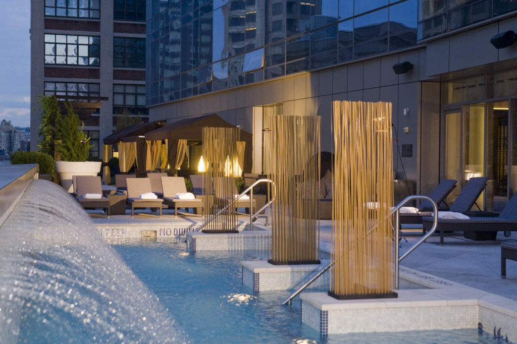 The spa in Trump SoHo, a hotel ranked in the top 1% in carbon emissions in its class. Photo from Luxury Travelers Guide.
