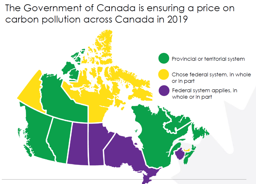 Map Of Canada Government Of Canada.Canada Unveils Carbon Dividend Plan To Cut Emissions 10 By 2022