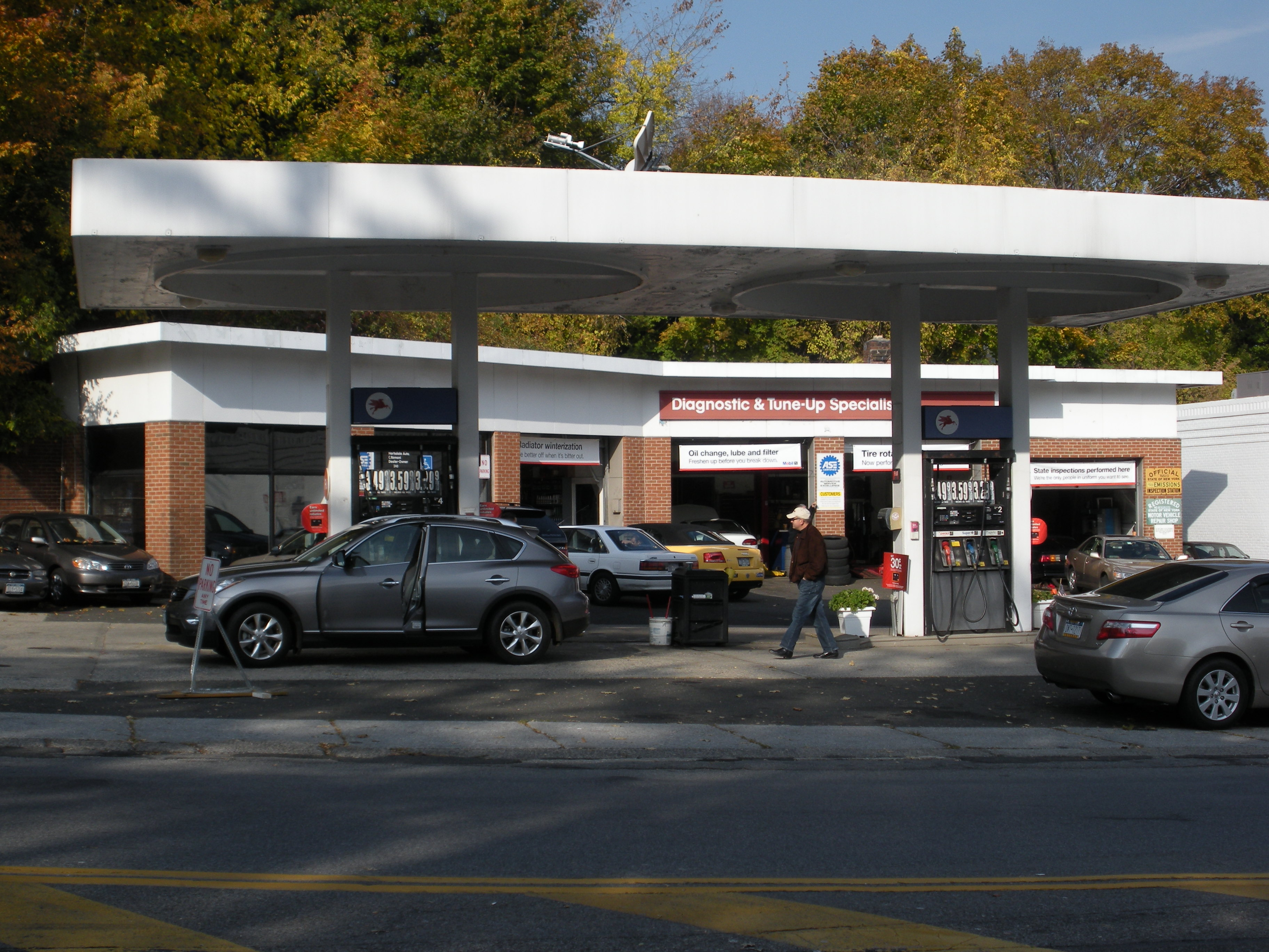 Filling-up in Hartsdale